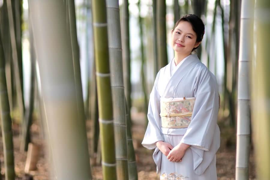 長野県名産の着物・織物