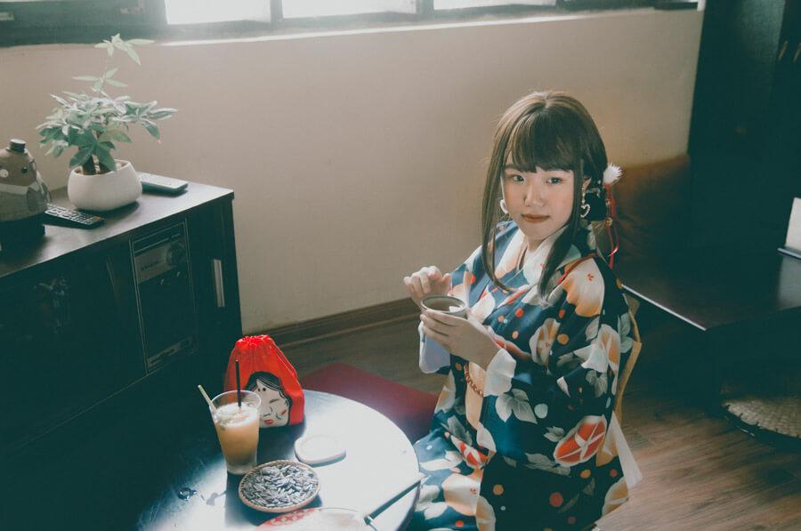福井県名産の着物・織物
