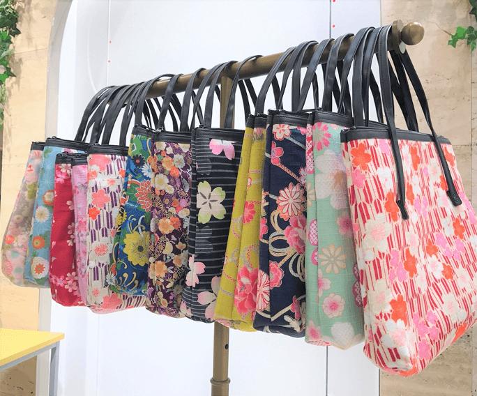花かんざしのバッグ