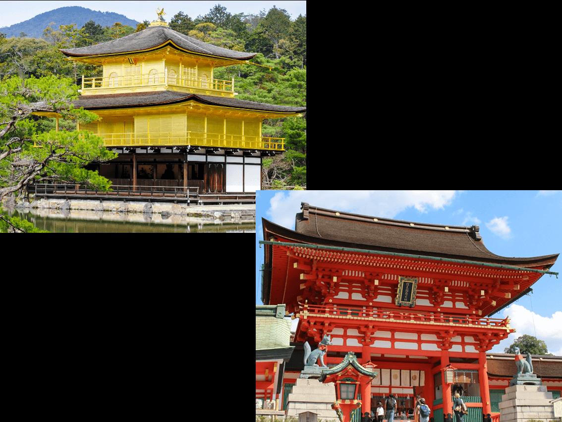 京都きものれじぇんどは観光地へ抜群のアクセス