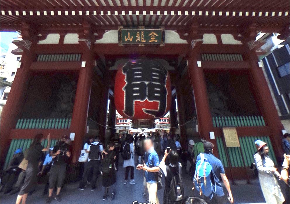 雷門2~3分・浅草寺5分の抜群のアクセス