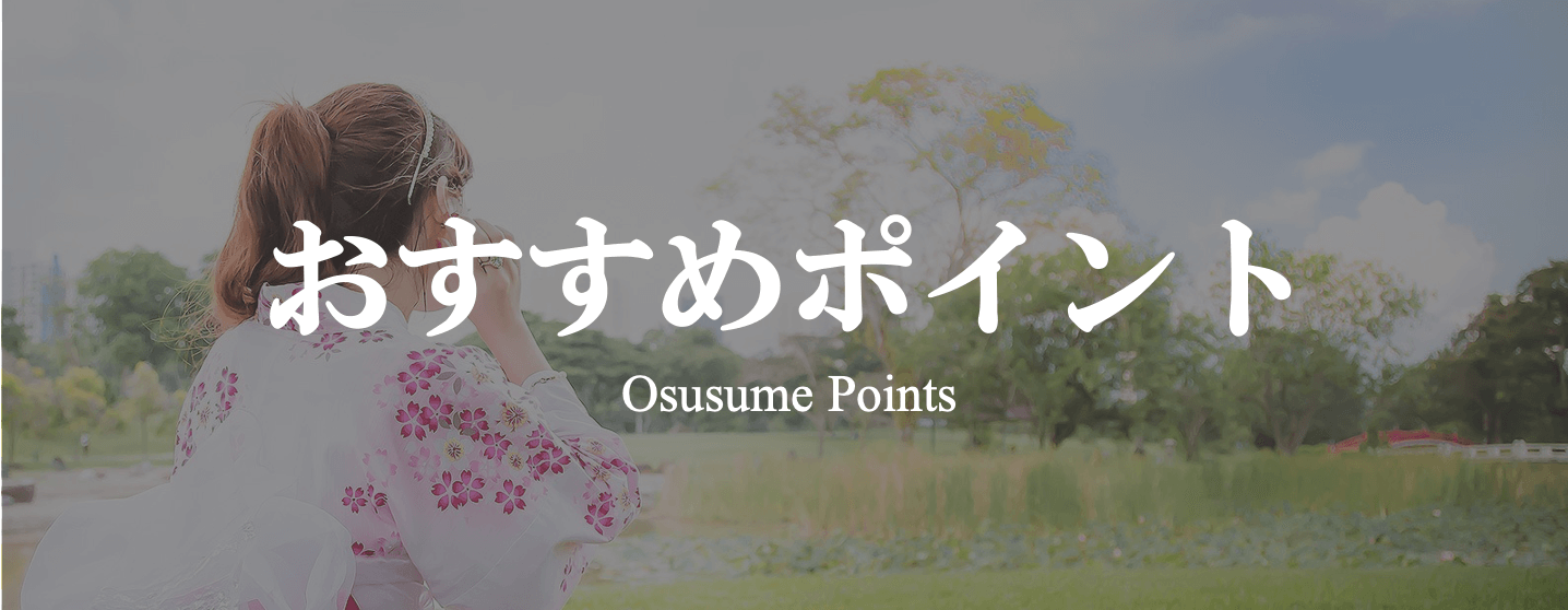TUZUMI ~ japanese 和 styleのおすすめポイント